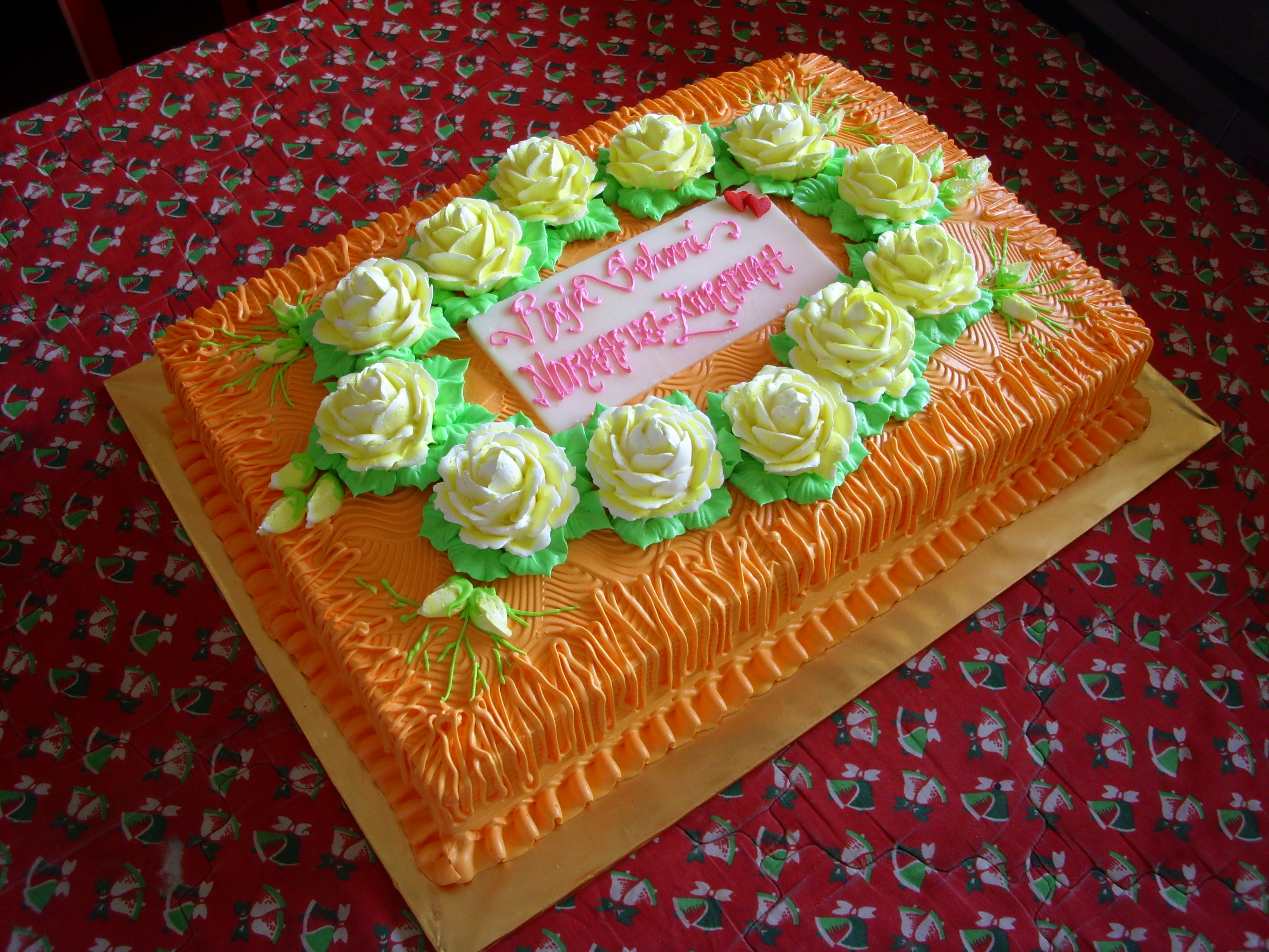 Торт квадратный в домашних условиях